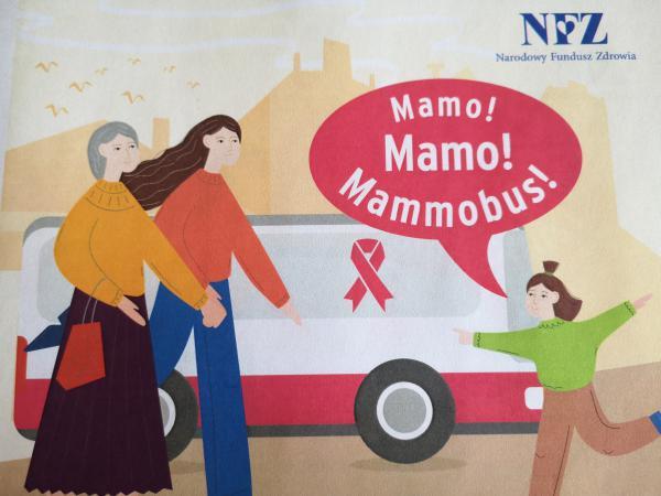 Mammografia w Mammobusie
